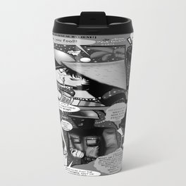 Bird of Steel Comix – #8 of 8  - (Society 6 POP-ART COLLECTION SERIES) Travel Mug