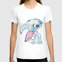 stitch T-shirts featuring Stitch by Art By JuJu