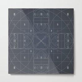 Fibonacci Metal Print
