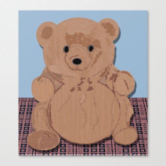 Wes T. Bear Canvas Print