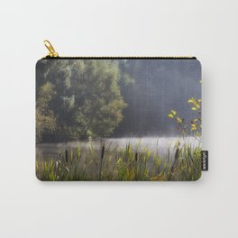 Autumn Mist at Mallards Pike Carry-All Pouch