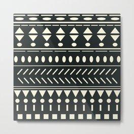 Nordic Pattern XVIII Metal Print