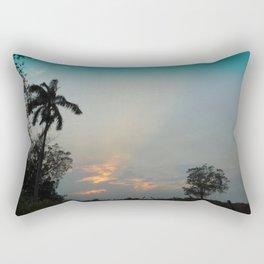 Sunset in the Pasture Rectangular Pillow