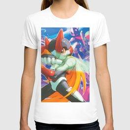 Megaman Zero Girl T-shirt