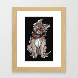 Baby Boi Framed Art Print