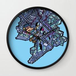 Tower @ Nowhere [Jordan Eismont] Wall Clock