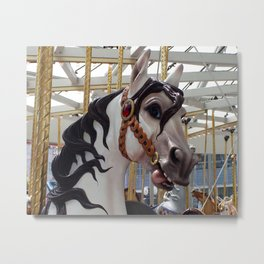 Carousel horse 03 Metal Print