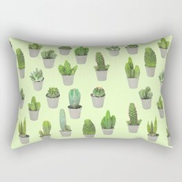 House Plants Rectangular Pillow