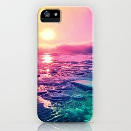 Pastel Sunset Waters iPhone Case