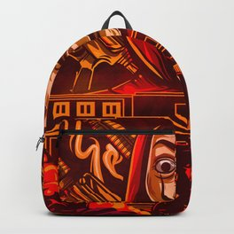 Money Heist / Lacasa De Papel Inspired Design Backpack