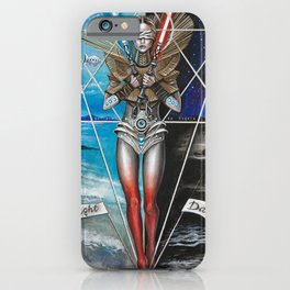 Eclipse 2 - Balance of 2 Swords iPhone Case