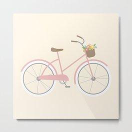 Bike Bicycle Metal Print