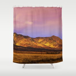 Photon Landslide Shower Curtain