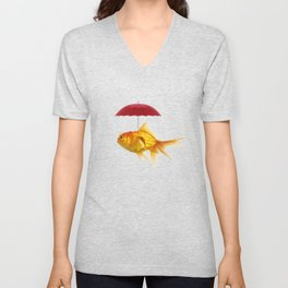 under cover goldfish 02 Unisex V-Neck