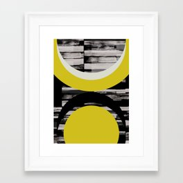 C4 Framed Art Print