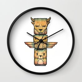 The Legends Wall Clock