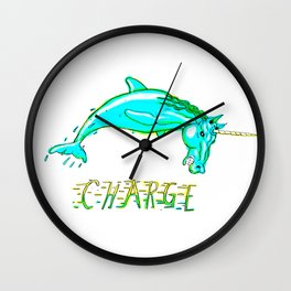 CHARGE! Wall Clock