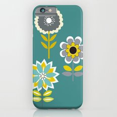 70ies inspired flowers Slim Case iPhone 6s