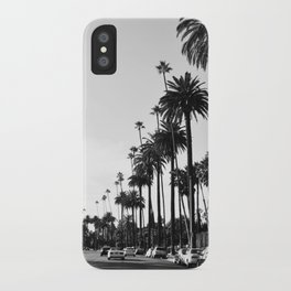 Los Angeles Black and White iPhone Case