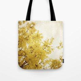 Dreamy Forsythia  Tote Bag