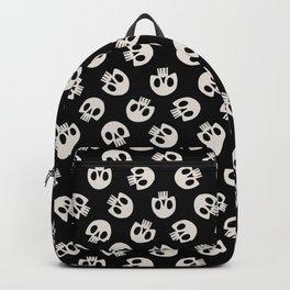 Cute Skulls (Black) Backpack