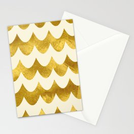 Cream Gold Foil 04 Stationery Cards