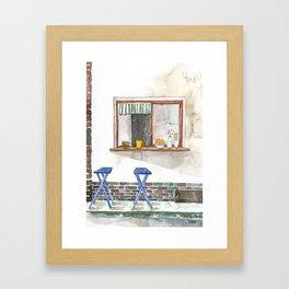 Conversation Series :: This will do. Danke Schön Framed Art Print