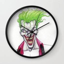 Joker night out Wall Clock