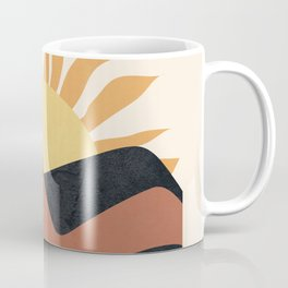 Hill Sunset Coffee Mug