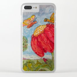 Saving a Seat In Heaven For You Clear iPhone Case