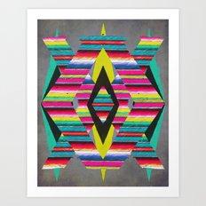 Serape Art Print