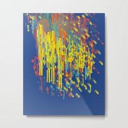 colorfall Metal Print