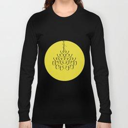 Font Chandelier Long Sleeve T-shirt
