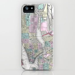 New York City and Brooklyn iPhone Case