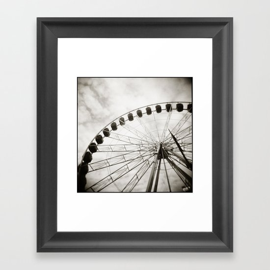 { ferris day out } Framed Art Print