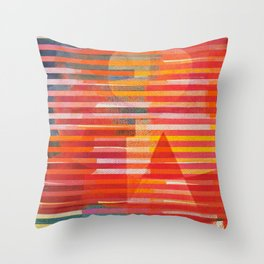 Calma a Mezzogiorno Throw Pillow