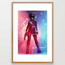 Digitalis Framed Art Print