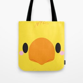 Yellow Chocobo Block Tote Bag