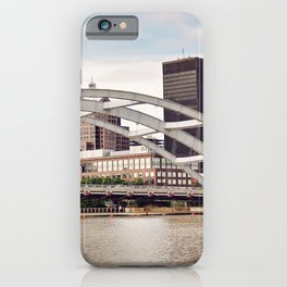 Frederick Douglass–Susan B. Anthony Memorial Bridge | Rochester NY iPhone Case