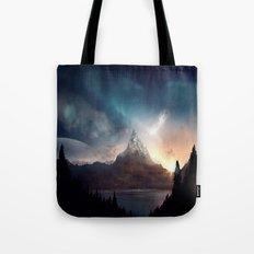 fantasy mountain Tote Bag