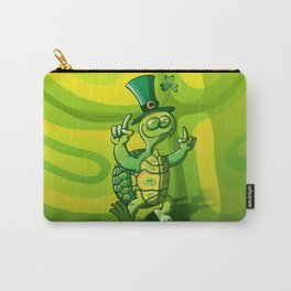 Saint Patrick's Day Green Turtle Carry-All Pouch
