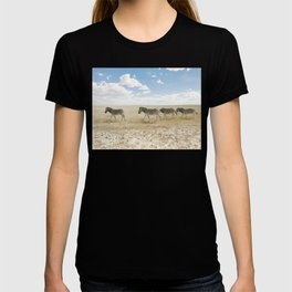 Zebra on African Savannah T-shirt