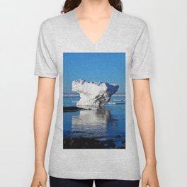 Iceberg in the Shallows Unisex V-Neck