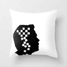 The Fools Never Learn Throw Pillow