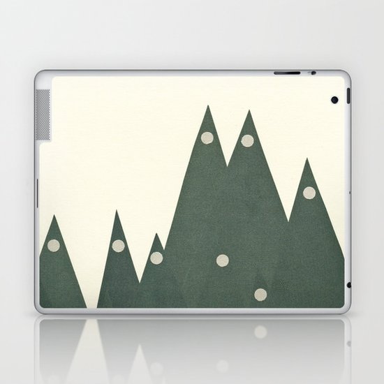 Moonlit Peaks Laptop & iPad Skin