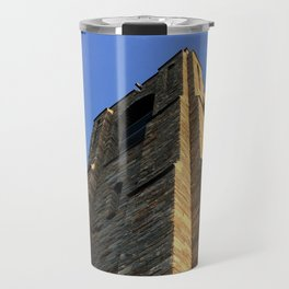 The Stone Bell Tower of Baker Park Travel Mug