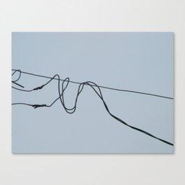 Fios e construção (2) Canvas Print