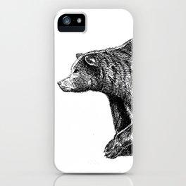 Bear ink iPhone Case