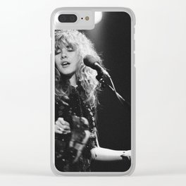 Stevie Nicks Clear iPhone Case