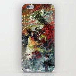 Ghost's night iPhone Skin